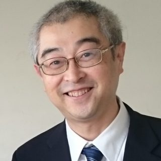 高増哲也先生のお顔写真です